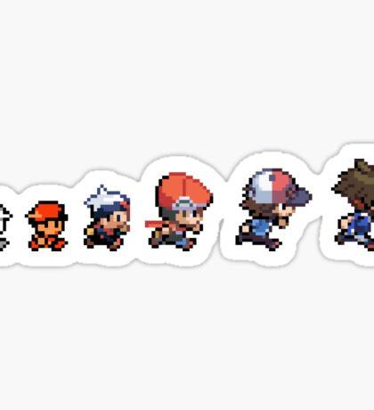 Pokemon Evolution Sticker