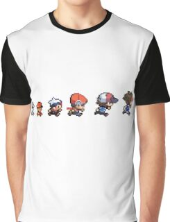 Pokemon Evolution Graphic T-Shirt