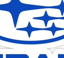 Subaru Logo blue Sticker