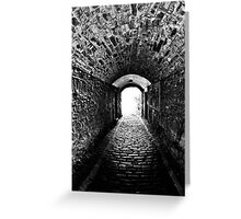 Downwards Greeting Card