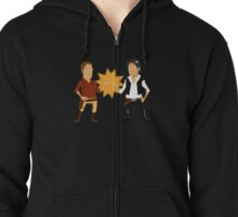 Dashing Rogues Zipped Hoodie