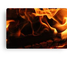 Saturday Night Fire Canvas Print