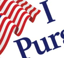 I Purged -  Purge sticker badge - Size Small Sticker