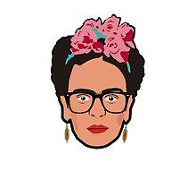 Frida Kahlo  by LittleAnomaly