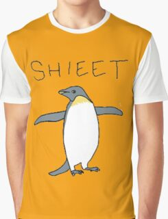 shieet a penguin Graphic T-Shirt