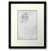 A Soldier In The Mist Framed Print