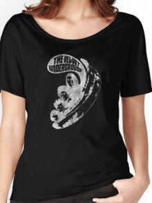 VU Banana (white) distressed  Women's Relaxed Fit T-Shirt