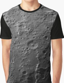 Moon surface Graphic T-Shirt