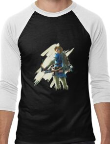 Link zelda breath of the wild Men's Baseball ¾ T-Shirt
