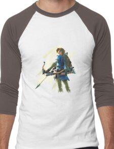 Link zelda breath of the wild Men's Baseball ¾ T-Shirt