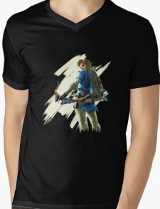 Link zelda breath of the wild Mens V-Neck T-Shirt