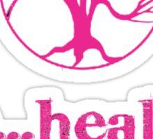 be...health! Tree Logo Shirt Sticker
