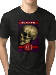 Dreimann Tarot: Death Card Tri-blend T-Shirt