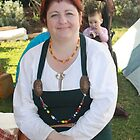 Lady at Medieval Fayre by JimmyChi