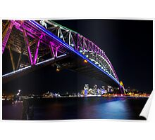 Harbour Bridge - Festival of Light Poster