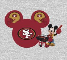 Mickey Mouse 49ers fan by sweetsisters