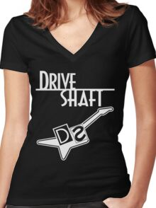 Drive Shaft - Lost Women's Fitted V-Neck T-Shirt