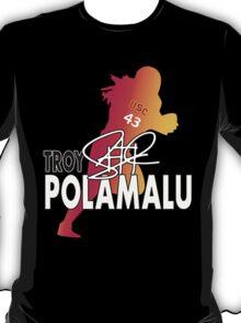 Troy Polamalu Silhouette T-Shirt