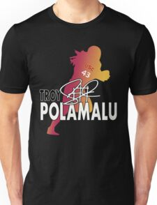 Troy Polamalu Silhouette Unisex T-Shirt