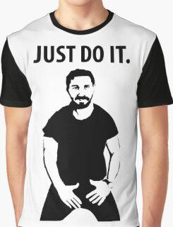 Shia LaBeouf - Just Do It Graphic T-Shirt