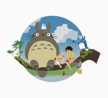 My Neighbor Totoro by kyubara