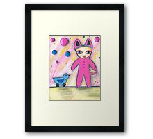 Never Too Old To Play Framed Print