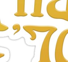 T7L Retro Sticker