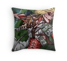 Attack on Annie Throw Pillow