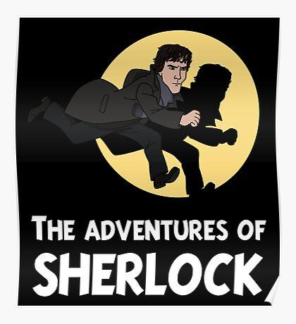 The adventures of Sherlock Poster