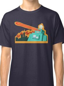 Giant robot... just another monday Classic T-Shirt
