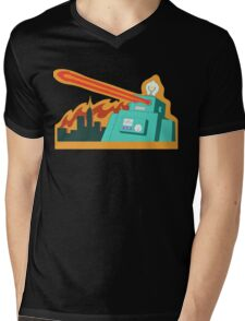 Giant robot... just another monday Mens V-Neck T-Shirt