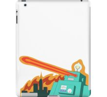 Giant robot... just another monday iPad Case/Skin