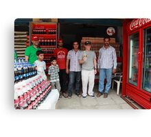 Coca Cola Shop Golconda Canvas Print