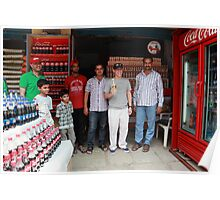 Coca Cola Shop Golconda Poster