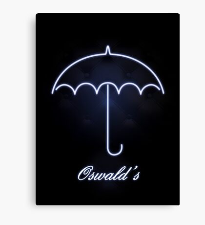 Gotham Oswald's night club Canvas Print