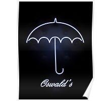 Gotham Oswald's night club Poster