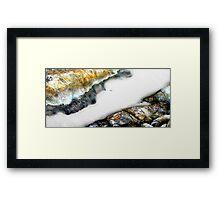 Sand Avalanche Framed Print