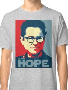 JJ Abrams Hope - In JJ We Trust Classic T-Shirt