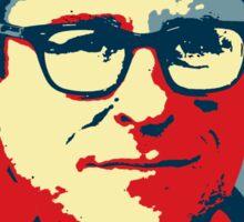 JJ Abrams Hope - In JJ We Trust Sticker