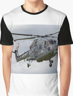 RN Westland Lynx HMA.8SRU 'The Black Cats' Graphic T-Shirt