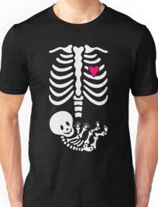 Pregnant Skeleton Unisex T-Shirt