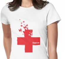 Rescue /// Womens Fitted T-Shirt