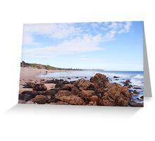 South Aussie beach Greeting Card