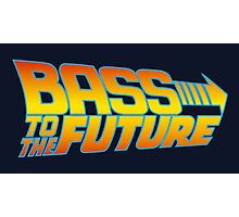 Bass to the Future Photographic Print