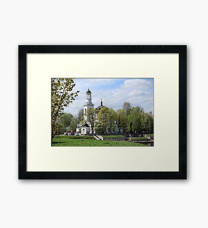 Church of Sts. Alexander Nevsky  Framed Print