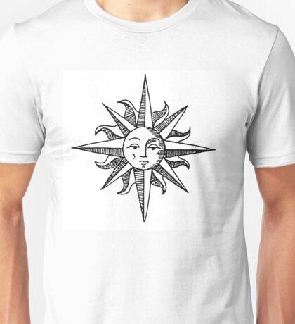 Sun Compass Unisex T-Shirt