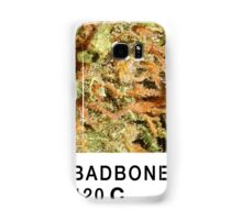 Bad Bone (Pantone) Weed 420 Samsung Galaxy Case/Skin