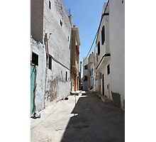 narrow street of the old  Photographic Print