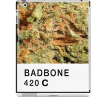Bad Bone (Pantone) Weed 420 iPad Case/Skin