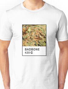 Bad Bone (Pantone) Weed 420 Unisex T-Shirt